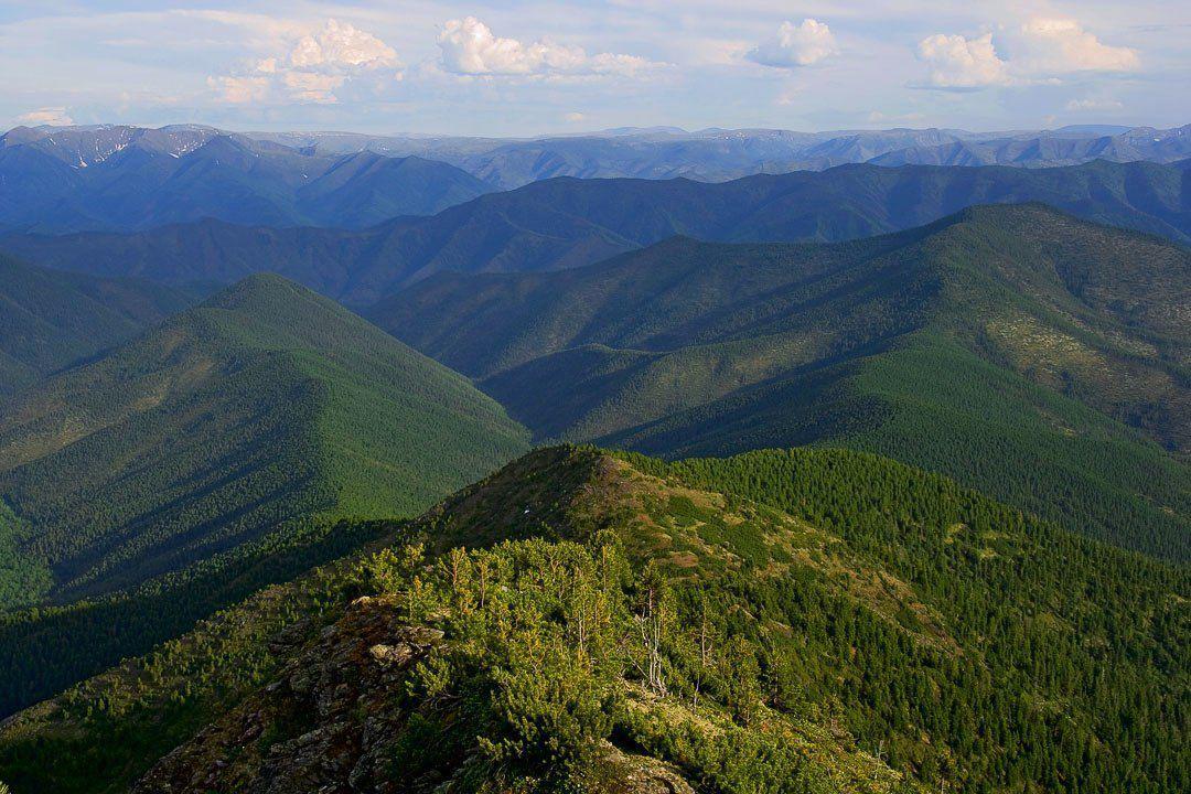 Хребет Хамар-Дабан, Бурятия, Иркутская область
