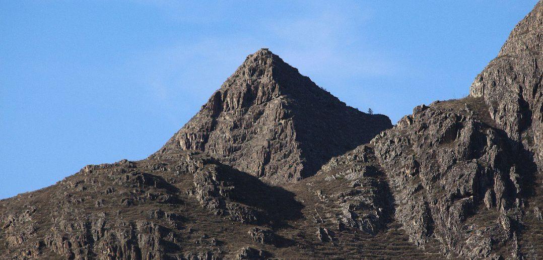 Куюсская пирамида, республика Алтай, чемальский район, Куюс, Фото