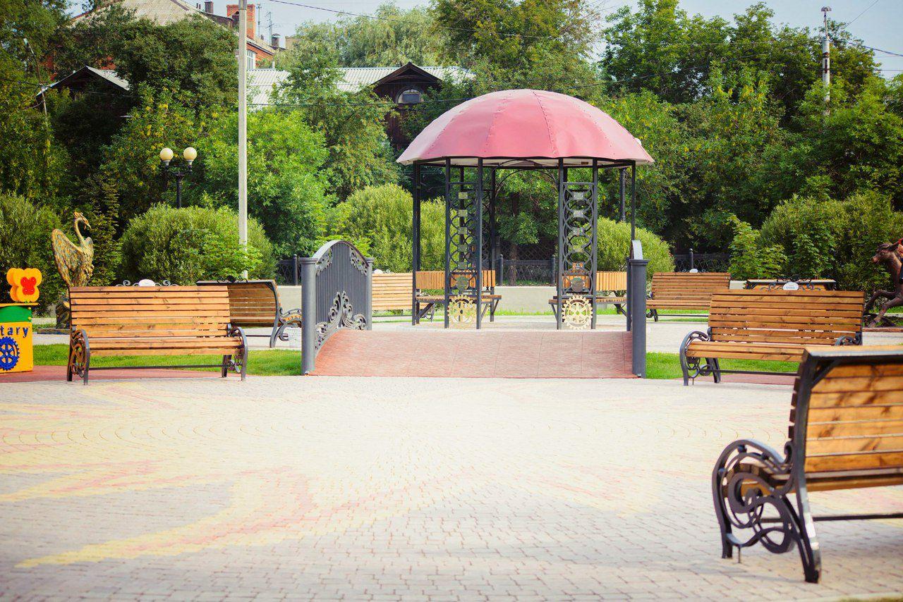 Парк в омске