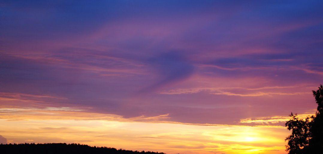 Сибирское небо, фото