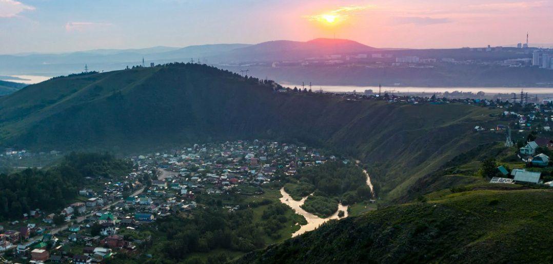 Красный гребень, Торгашинский хребет, Красноярский край, Фото