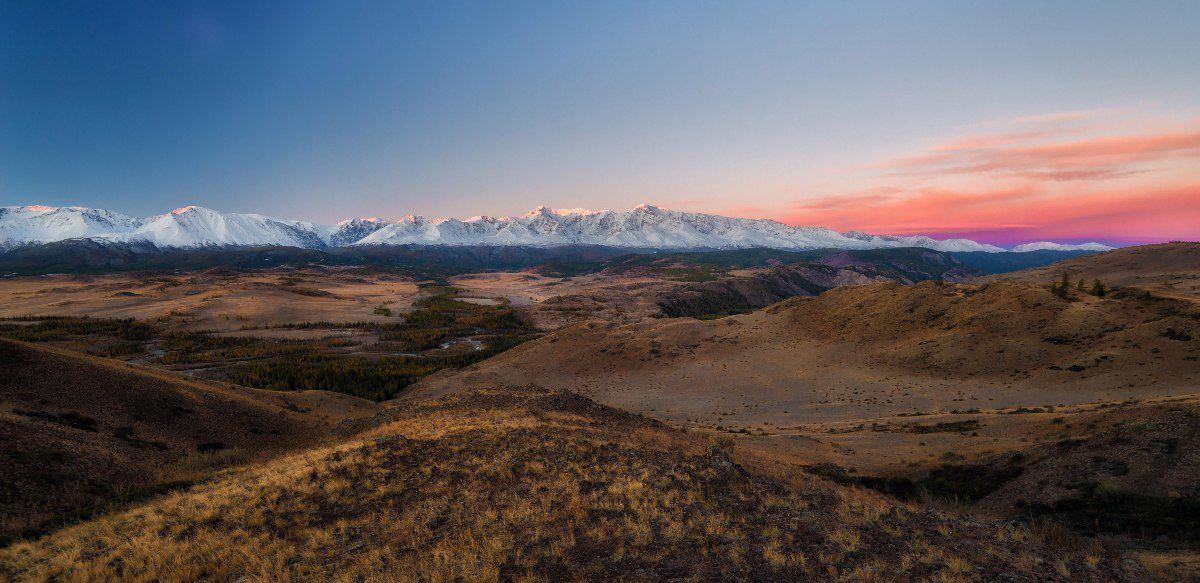 Рассвет, Курай, Алтай, фото