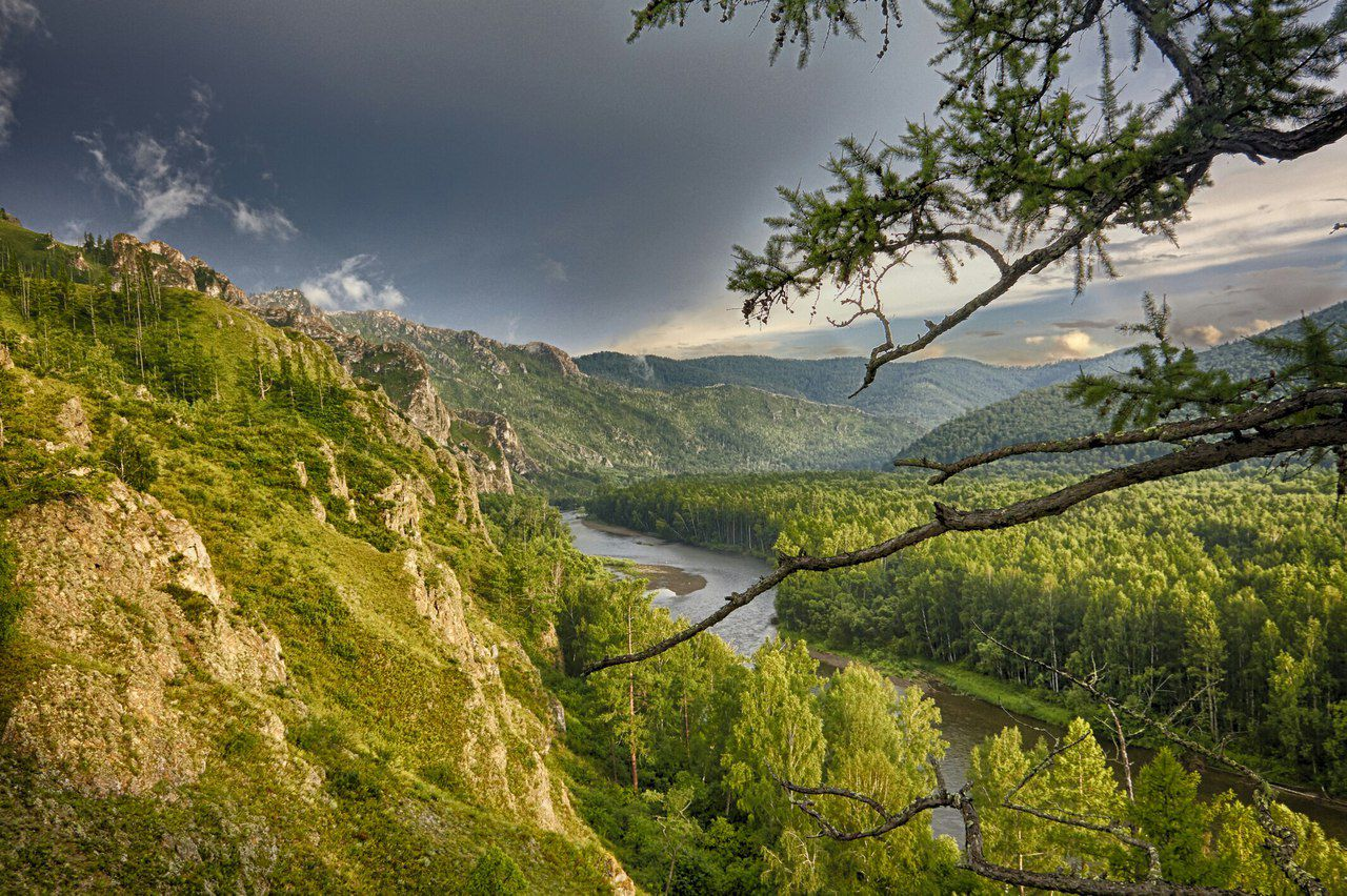 Тропа предков, Хакасия, фото