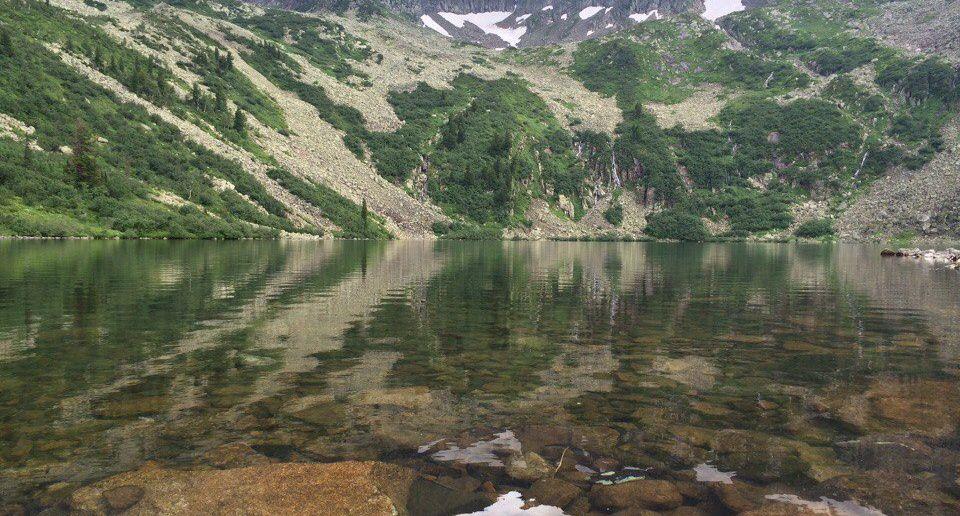 Озеро Выпускников, Кузнецкий Алатау, фото