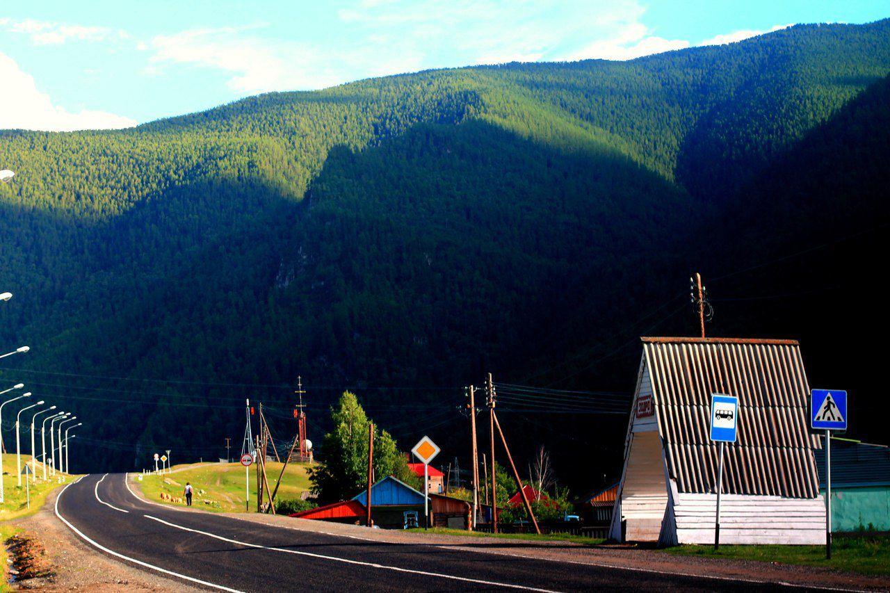М52, Чуйский тракт, Горный Алтай, фото