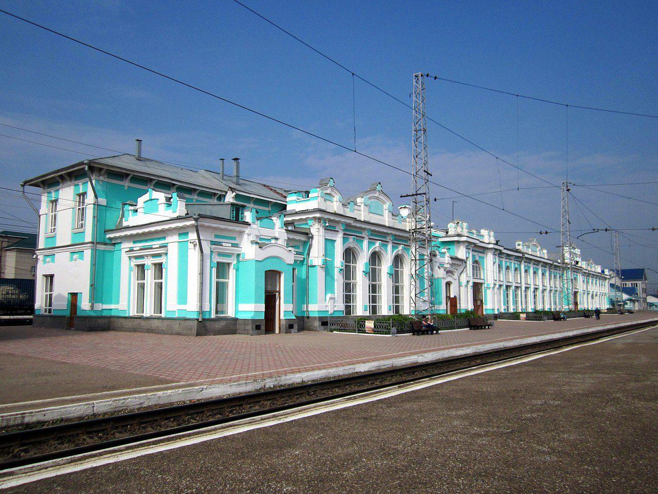 Транссиб, Тайга, Кемеровская область, фото