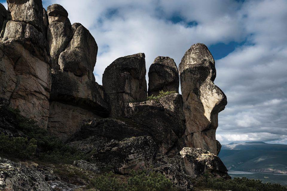 Каменные люди, Якутия, Кисилээх, Кисилях, Фото