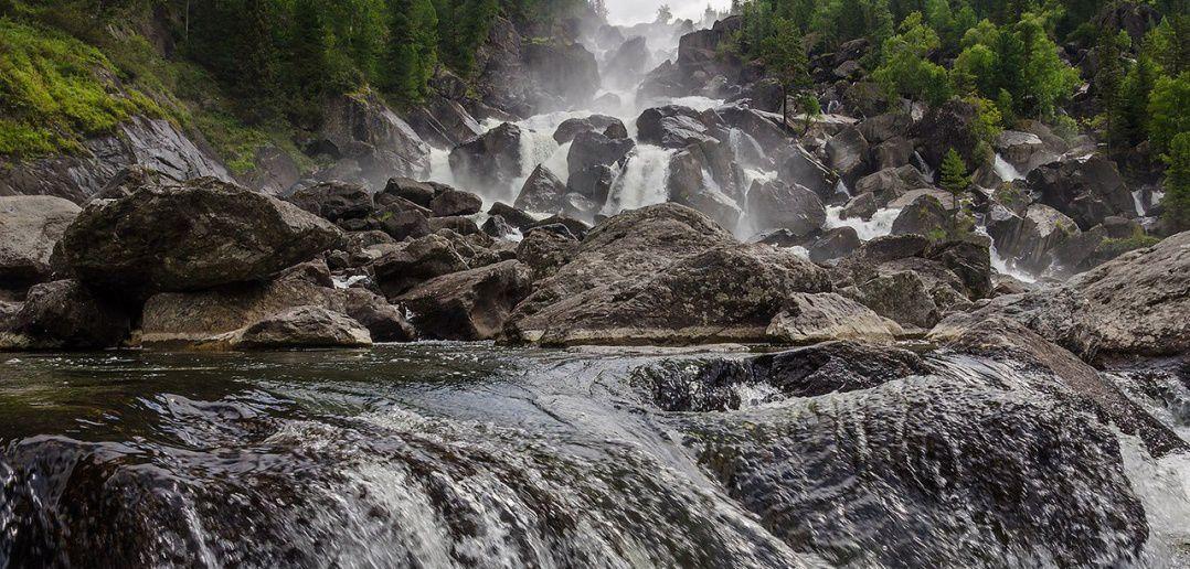 Река Чульча, Алтайский заповедник, Фото