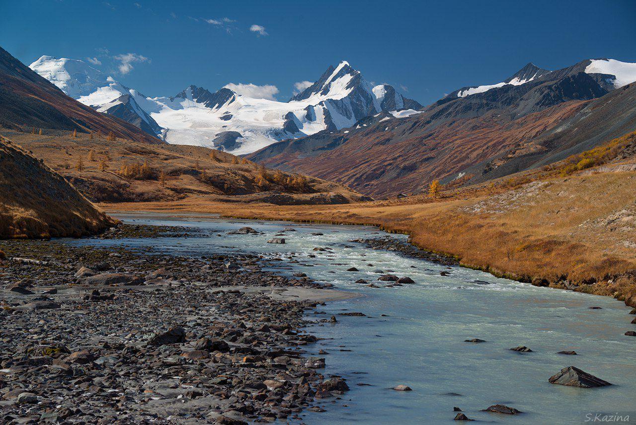 Горный Алтай, Кош-Агачский район, урочище Талдура, Талдуринский ледник, фото