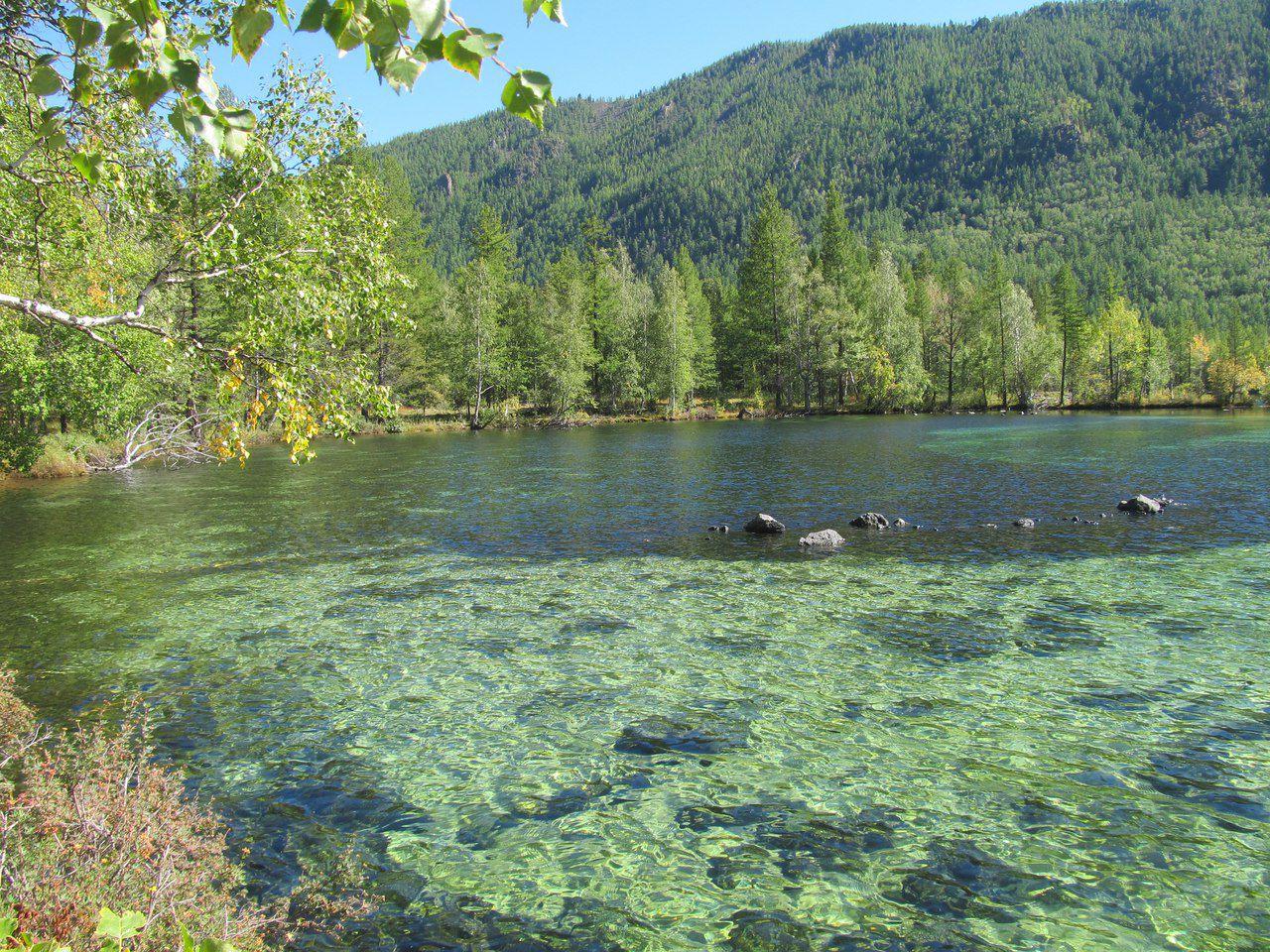 Саяны, лавовые озера, фото
