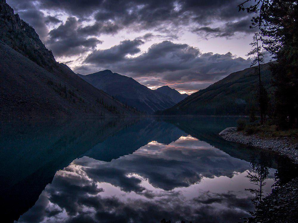 Алтай, Нижнее Шавлинское озеро, фото