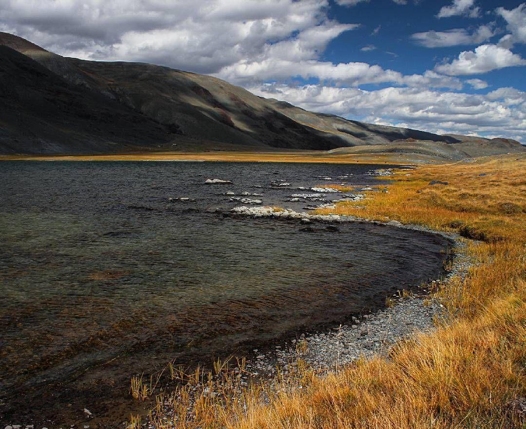 Озеро Каро Кель, долина Аккола, Алтай, Фото
