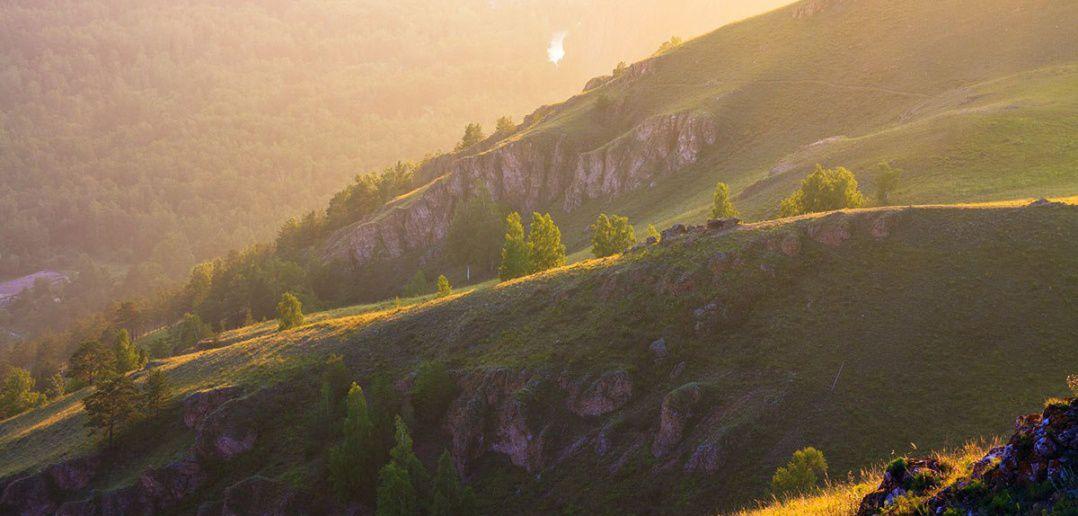 Торгашинский хребет, Красноярск, фото