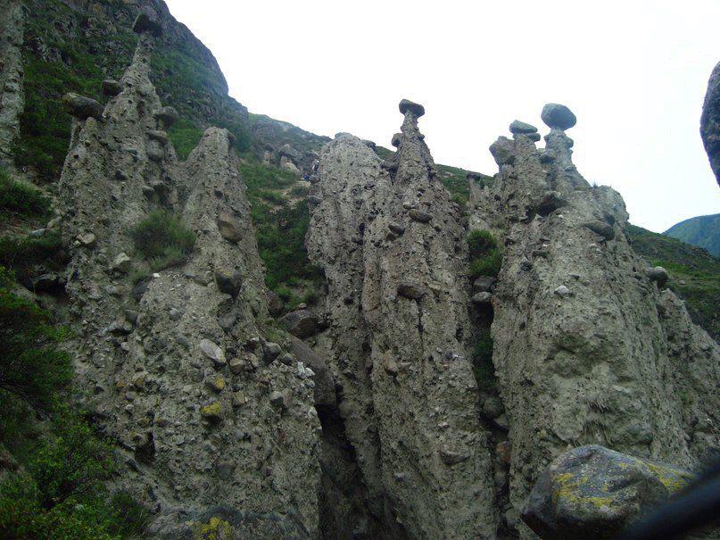 каменные грибы, Алтай, фото