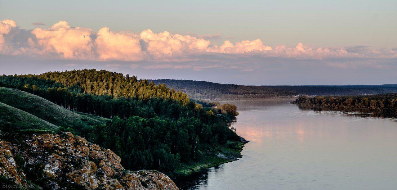 Томь, Кемеровская область, фото