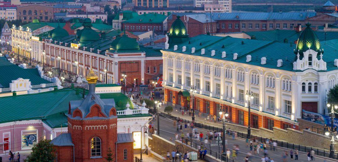 Омск, улица Ленина, Фото
