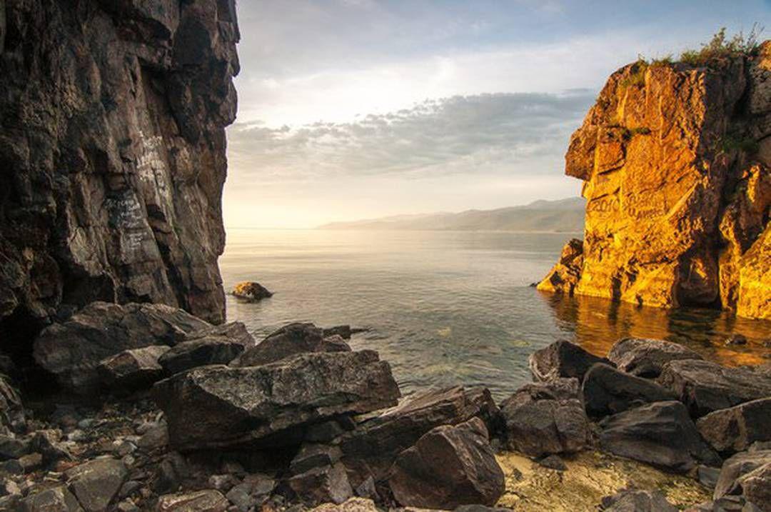 Шаманский, Байкал, Лицо шамана, Фото