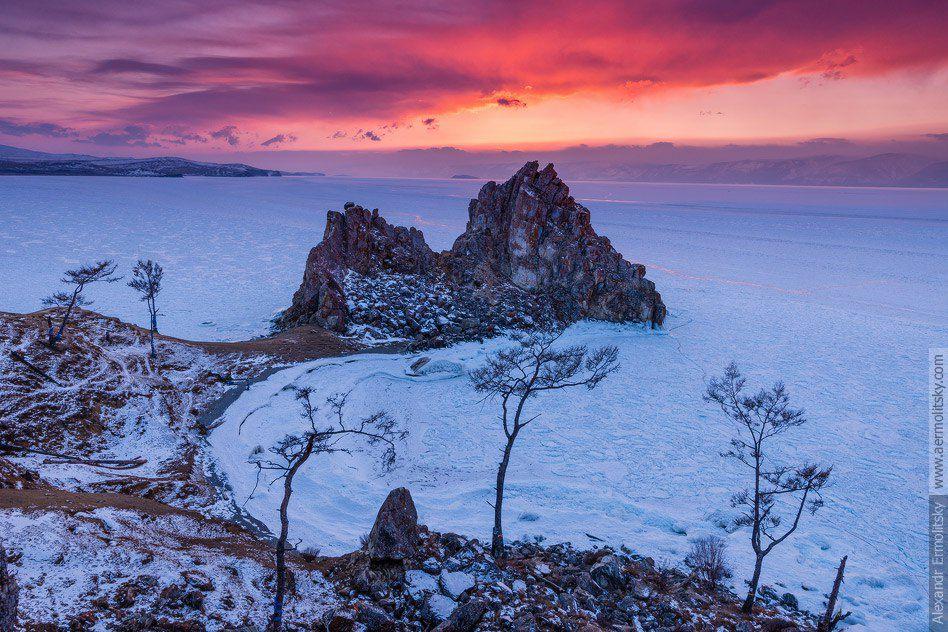 Иркутская область, Байкал, Ольхон, мыс Бурхан, Шаманка, Фото
