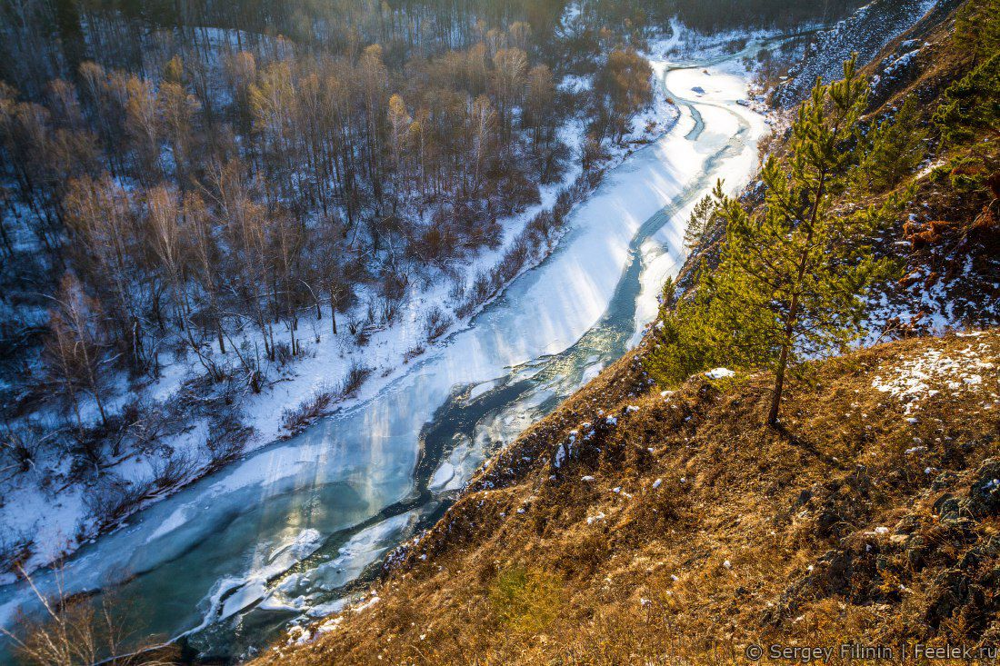 Бархатово, река Есауловка, Красноярский край, Фото