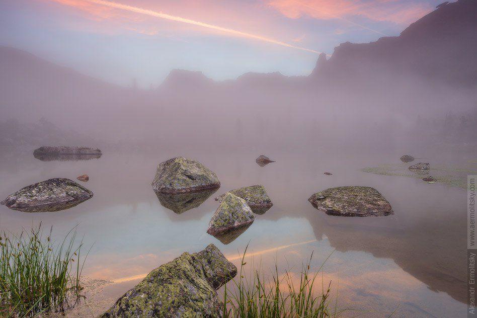 Саян, Красноярский край, природный парк Ергаки, озеро Радужное, Фото