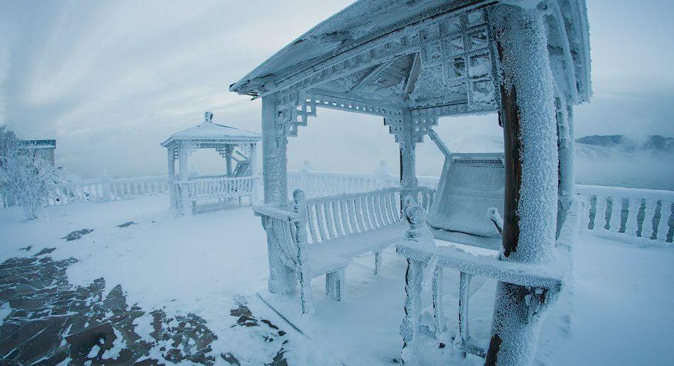 Ангара, Байкал, поселок Листвянка, Иркутская область