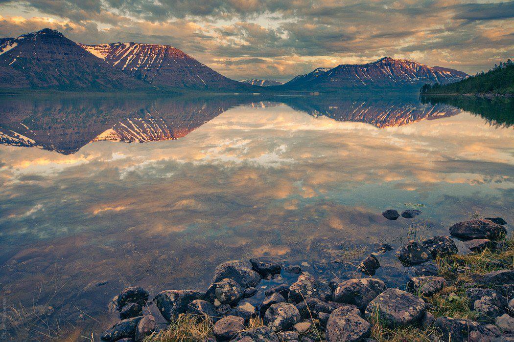 Озеро Лама, Плато Путорана, Красноярский край