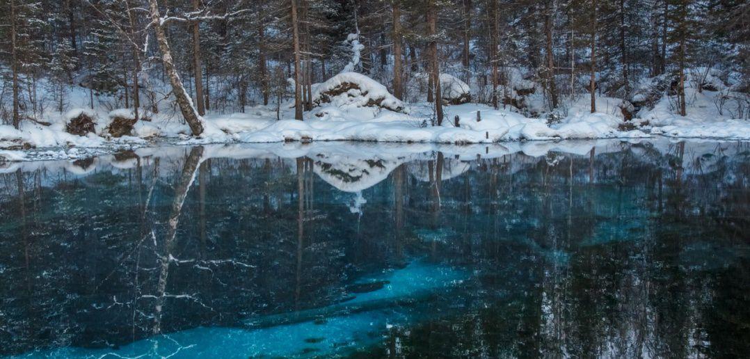 Гейзерное озеро, Алтай, фото