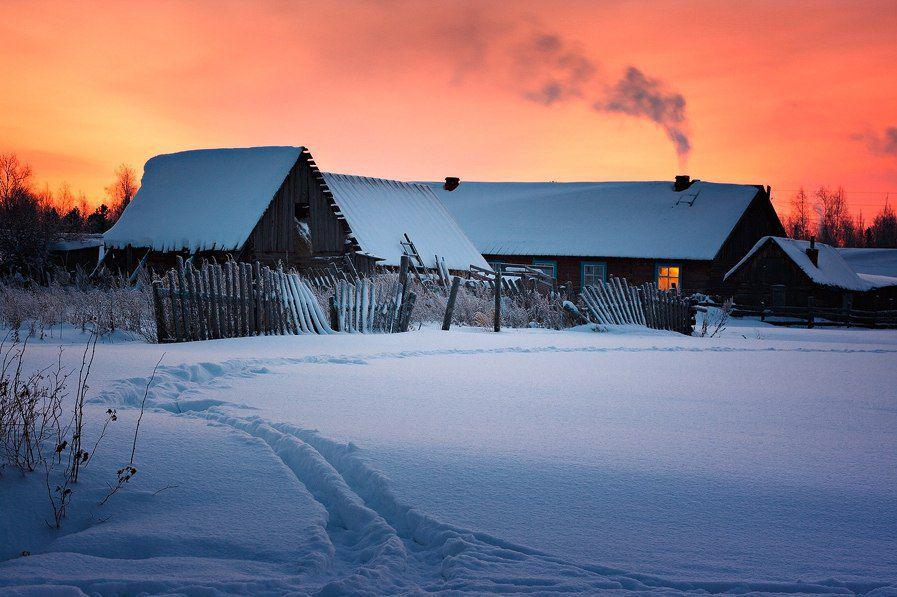 Поселок Клюквинка, Верхнекетский район, Томская область.