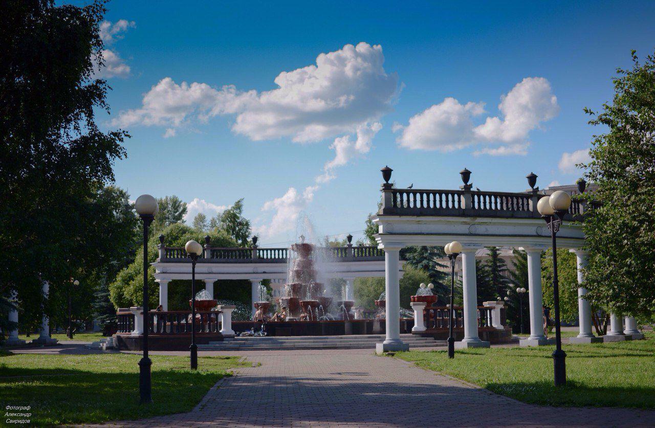 Сад Металлургов, Новокузнецк, Кемеровская область, Россия, фото