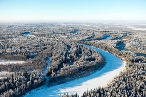 Большое Ольховское месторождение, ХМАО, фото