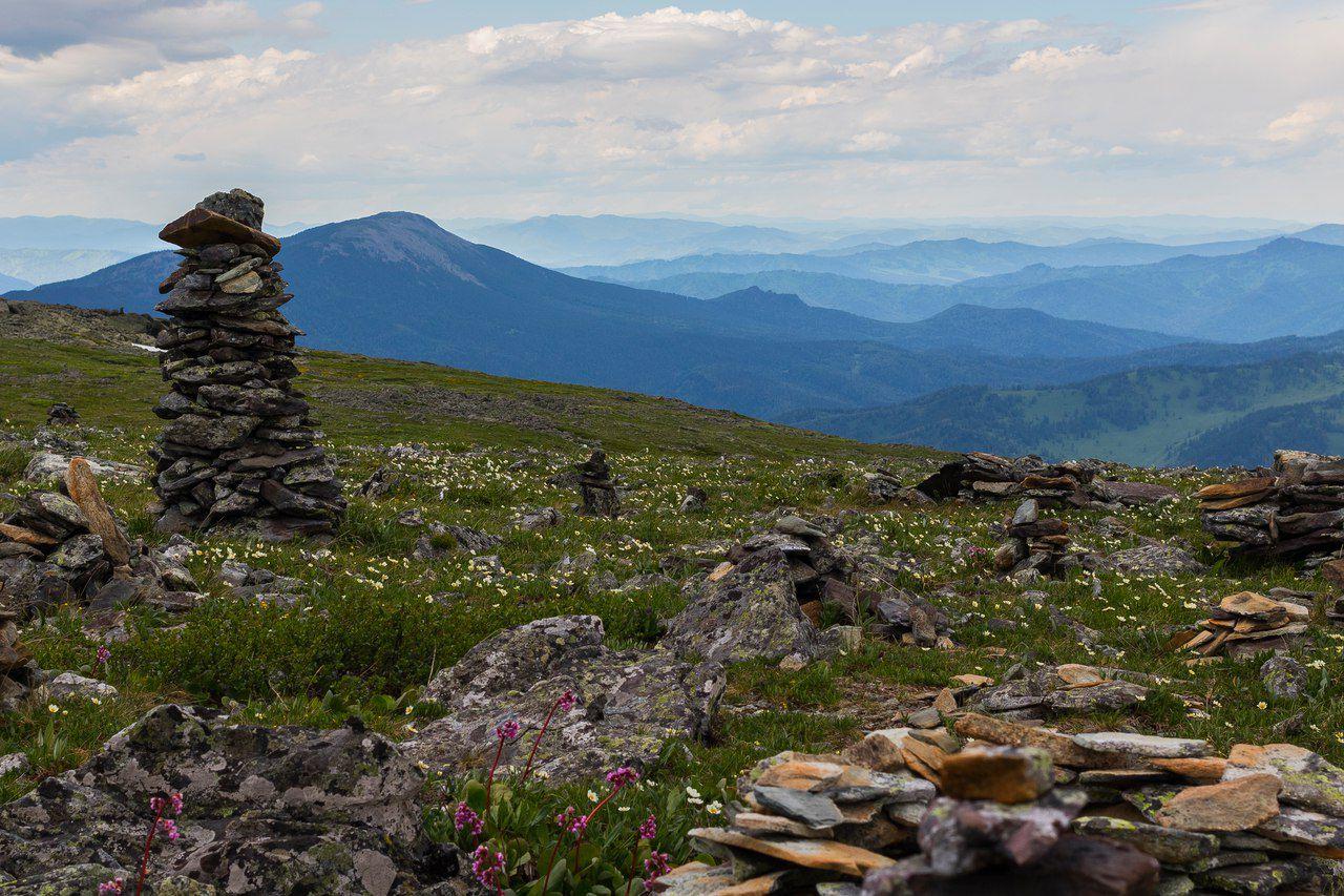 Республика Алтай, Чемальский район, гора Белок, Озерной, фото