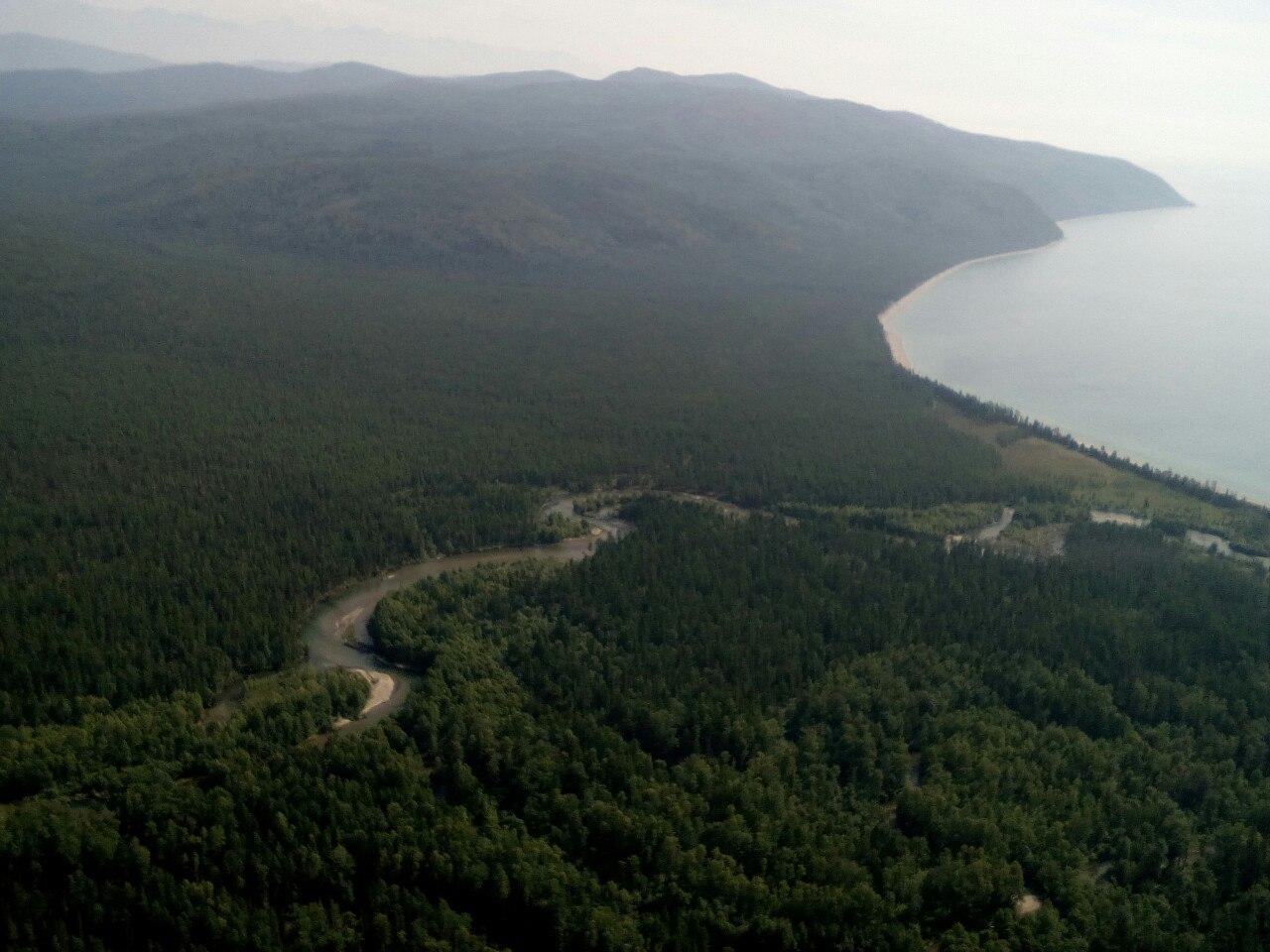 """Озеро Байкал, заповедник """"Давша"""", фото"""