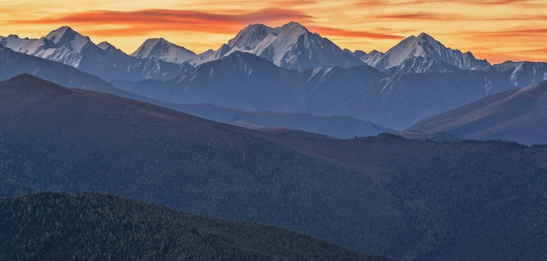 Гора Маашей, Северо-Чуйского хребта, Алтай, Фото