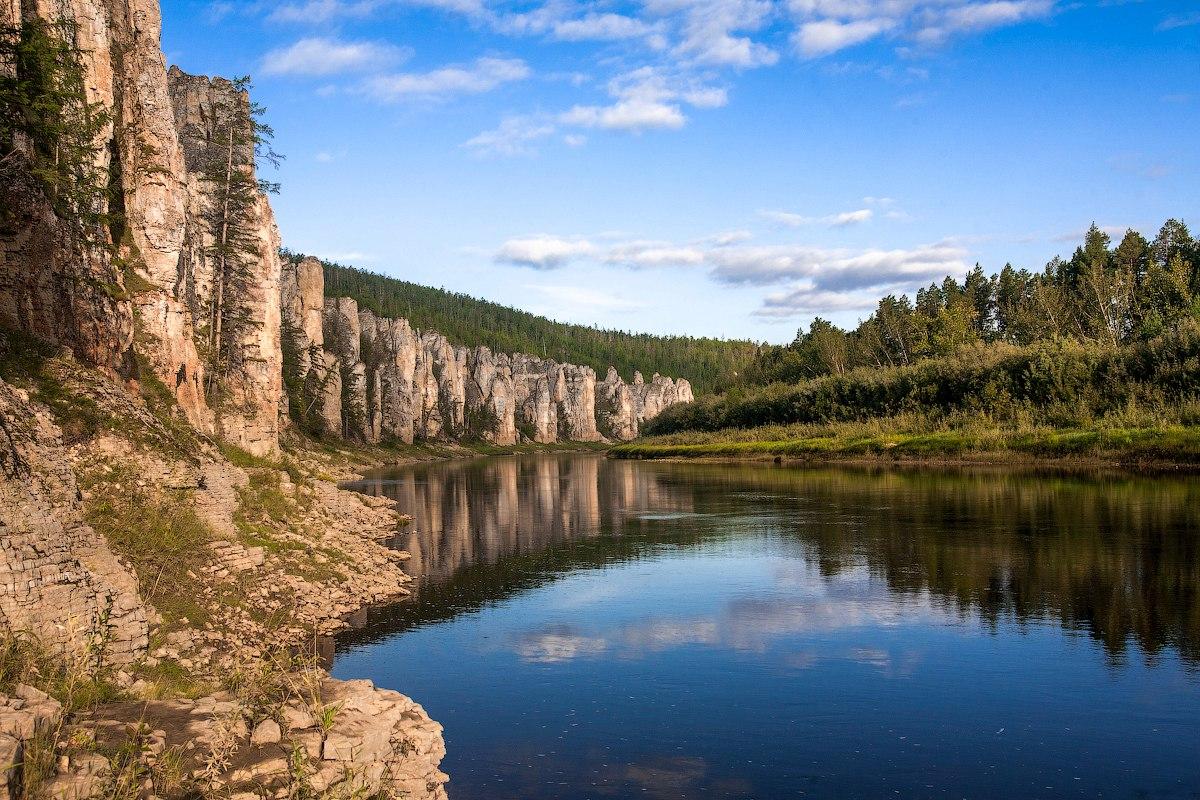 Река Синяя, Якутия, Фото