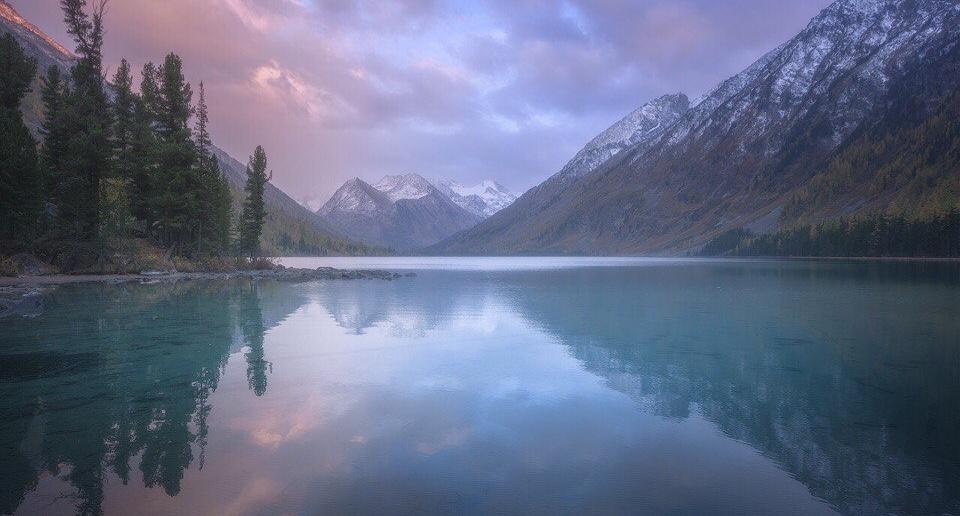 Мультинское озеро, Республика Алтай, фото