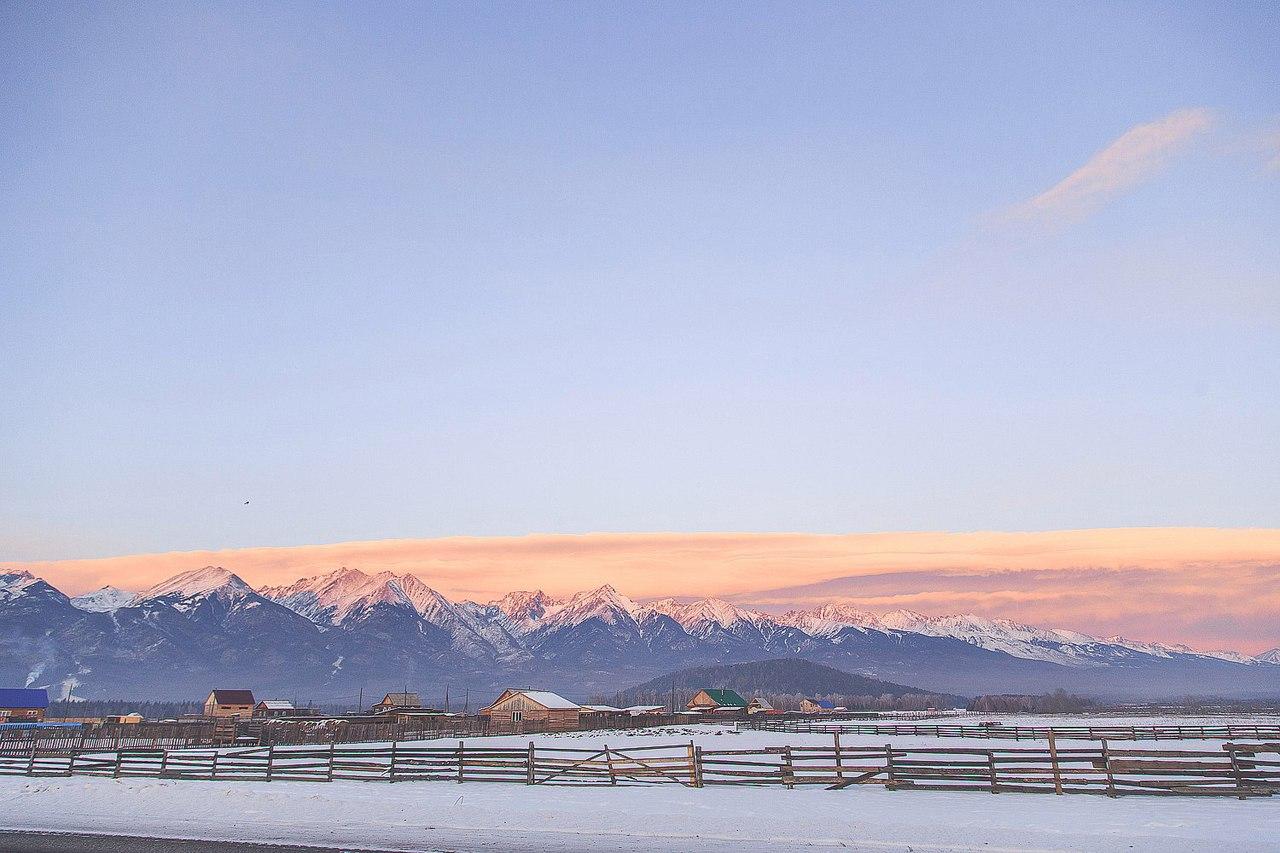 Зимний Аршан, Бурятия, Фото