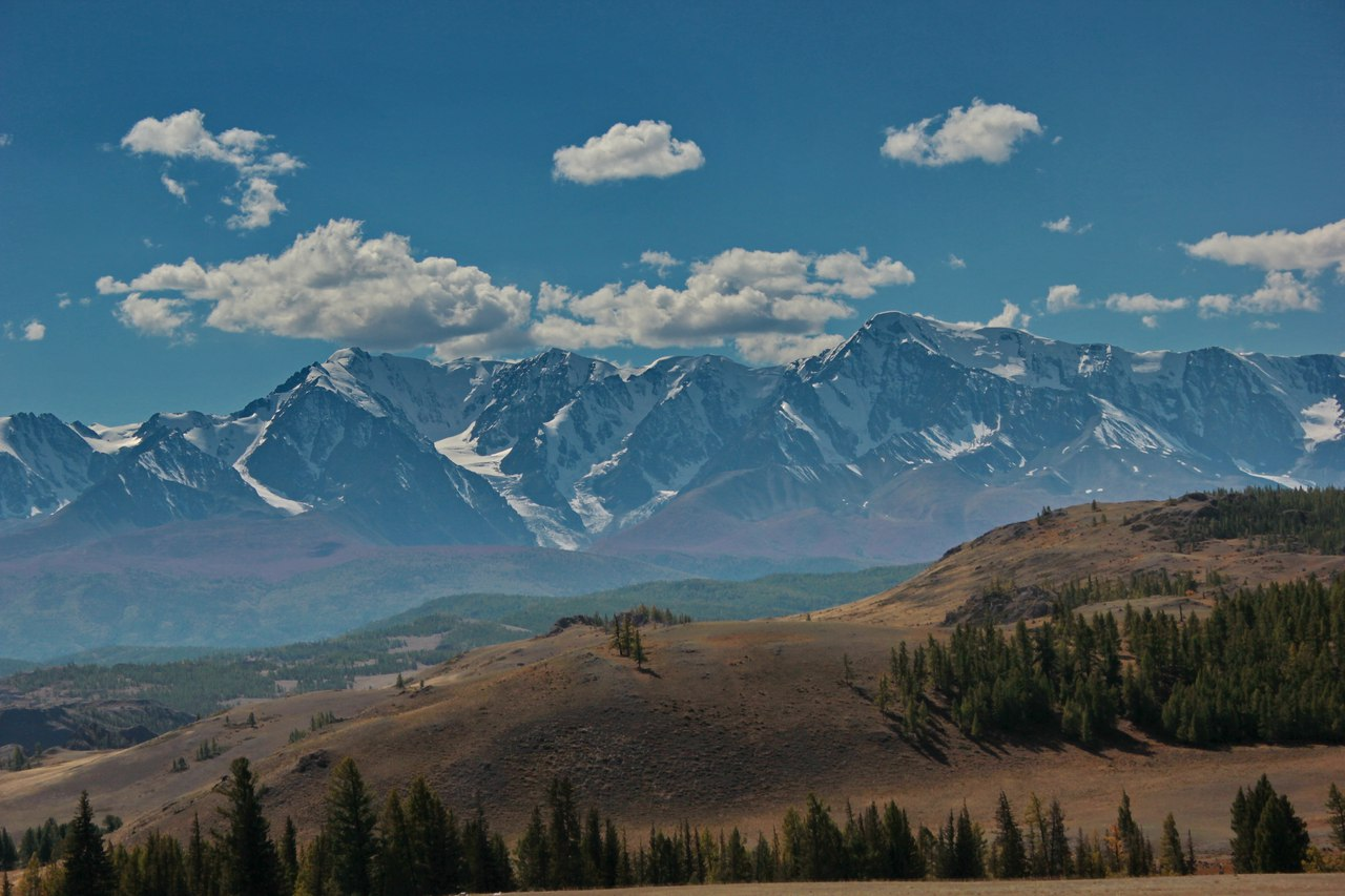 Северо-Чуйский хребет, Горный Алтай, фото