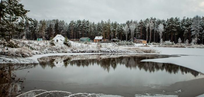 Зима в Тюмени Фото: Максим Слуцкий