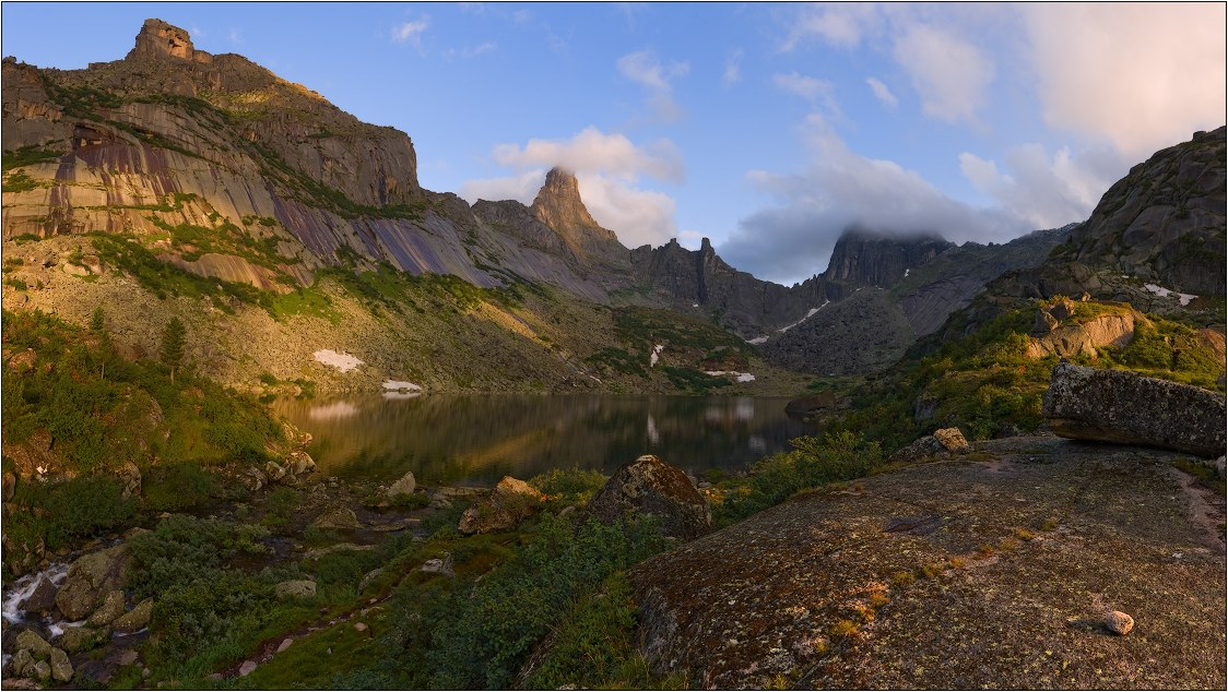 Западный Саян, Ергаки, Озеро Горных духов, Фото
