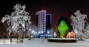 Тюмень, Площадь Борцов Революции, фото