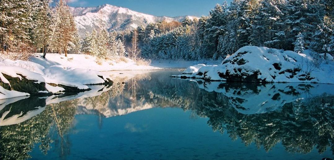 Голубые озёра, Чемальский район, Горный Алтай, Фото