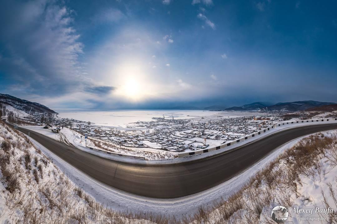 Улыбка Байкал, залив Култук, Фото
