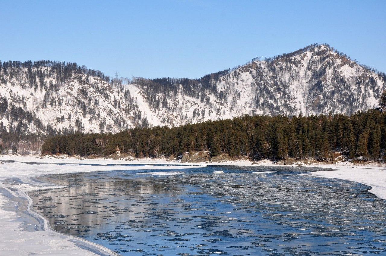 Река Катунь, Алтай, Фото