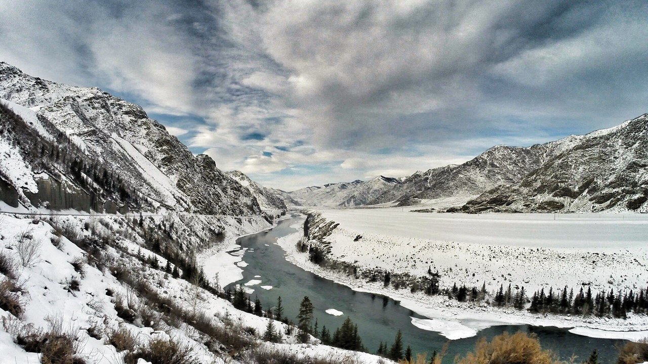 Winter, Altay, фото