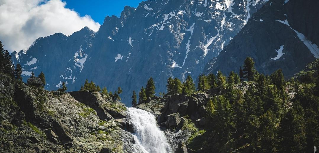 Водопад Куйгук, Алтай, Фото