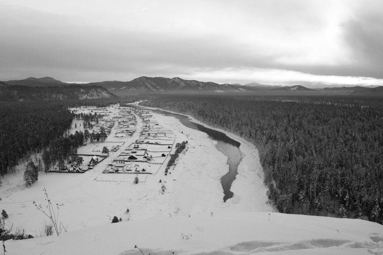 Река Бия, Село Тулой, Турочакский район, Фото