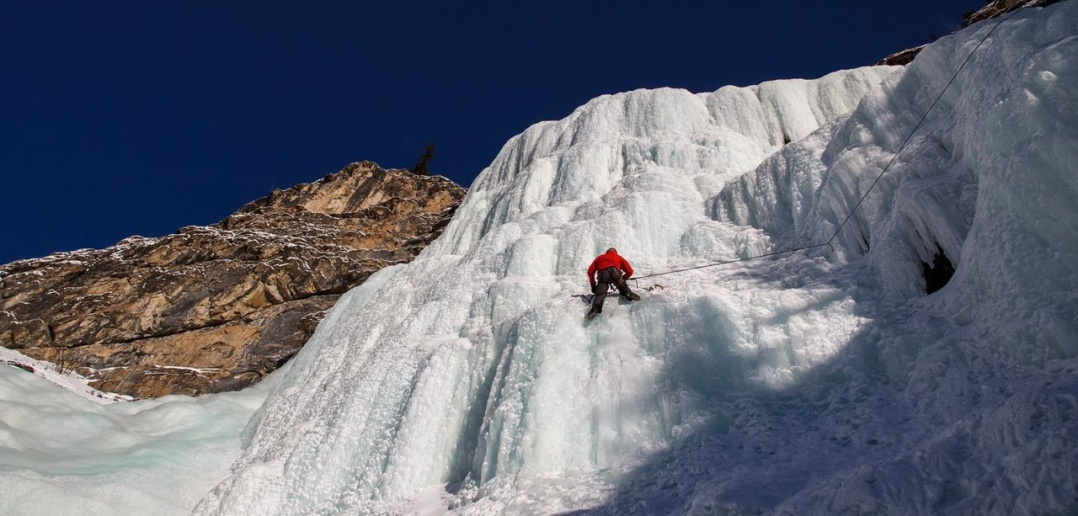 Ледопад Храпова, Алтай, Фото