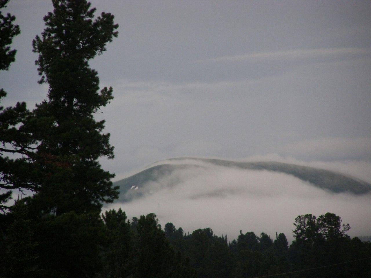Туман, Ергаках, фото