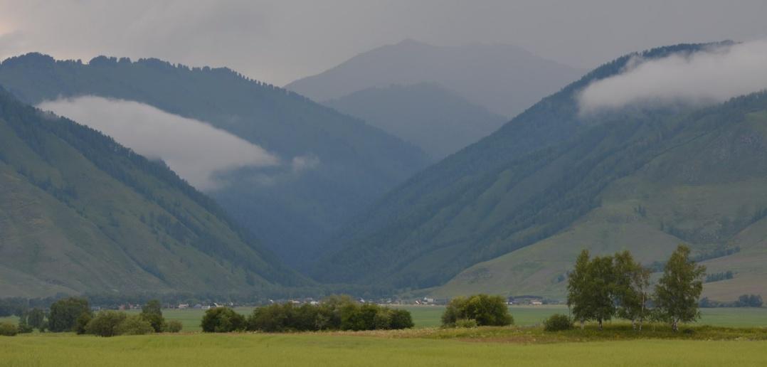 Уймонская долина, Горный Алтай, фото
