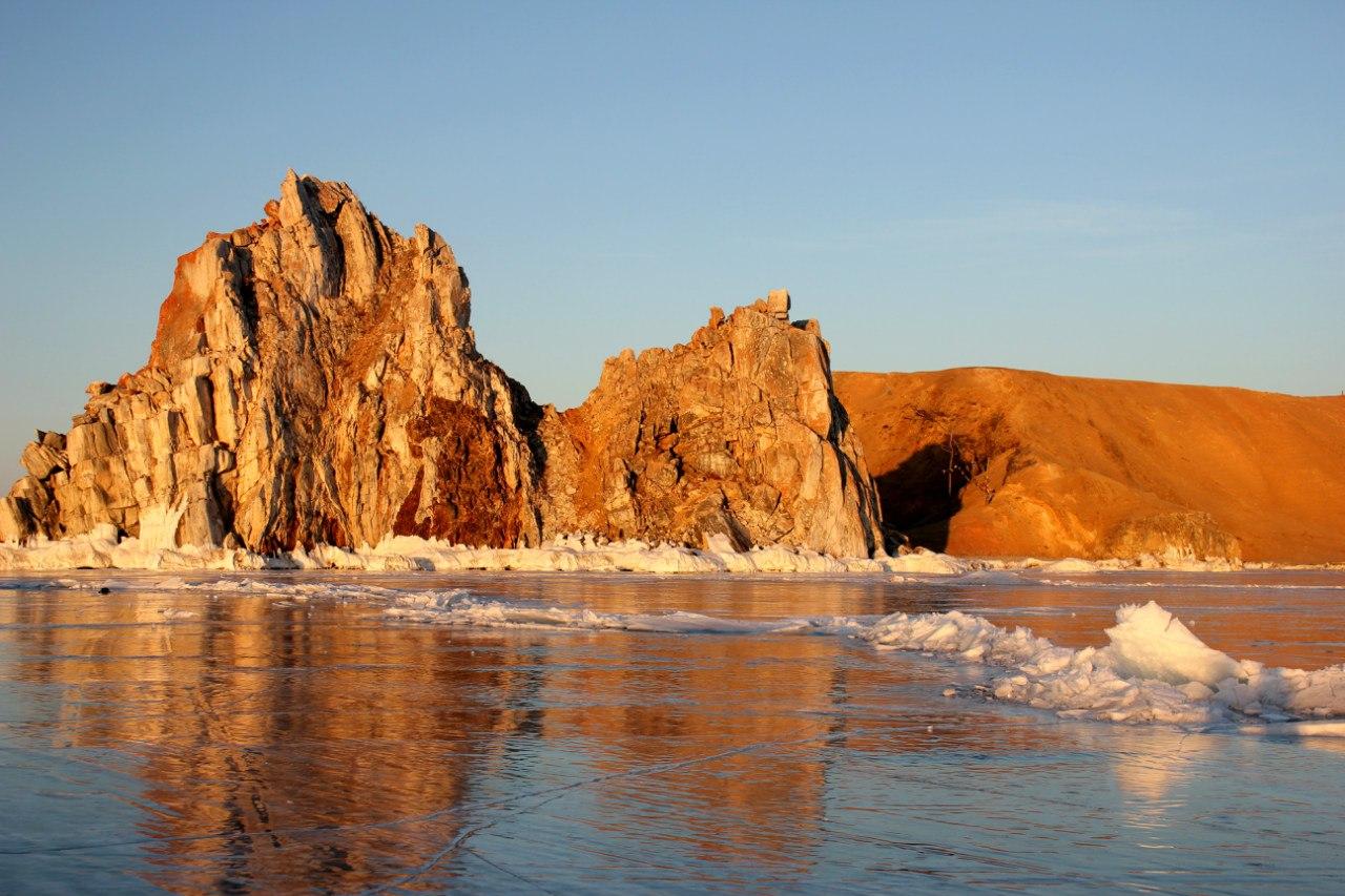 Байкальский лед, Остров Ольхон, фото